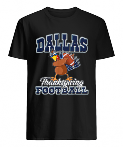 Dallas Cowboys Thanksgiving Day Turkey Playing Football  Classic Men's T-shirt