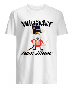 Nutcracker Soldier Toy Christmas Team Mouse  Classic Men's T-shirt