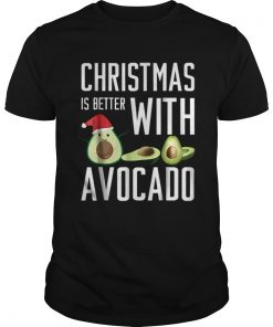 Pretty christmas is better with avocado  Unisex