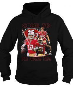 San Francisco 49ers come to the 549ers side Star War  Hoodie
