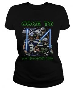 Seattle Seahawks come to the Seahawks side Star Wars  Classic Ladies