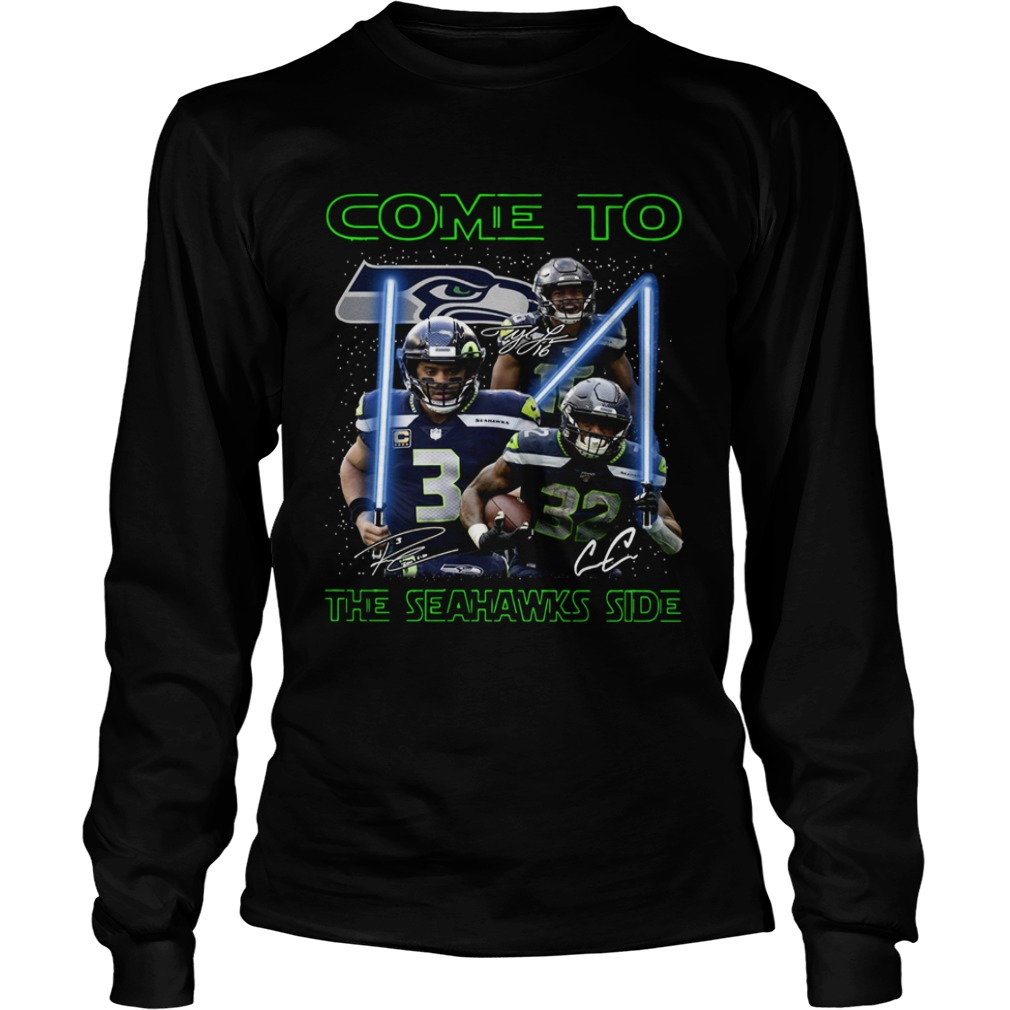 Seattle Seahawks come to the Seahawks side Star Wars LongSleeve