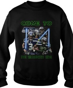 Seattle Seahawks come to the Seahawks side Star Wars  Sweatshirt
