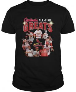 St Louis Cardinals all time great players signatures  Unisex
