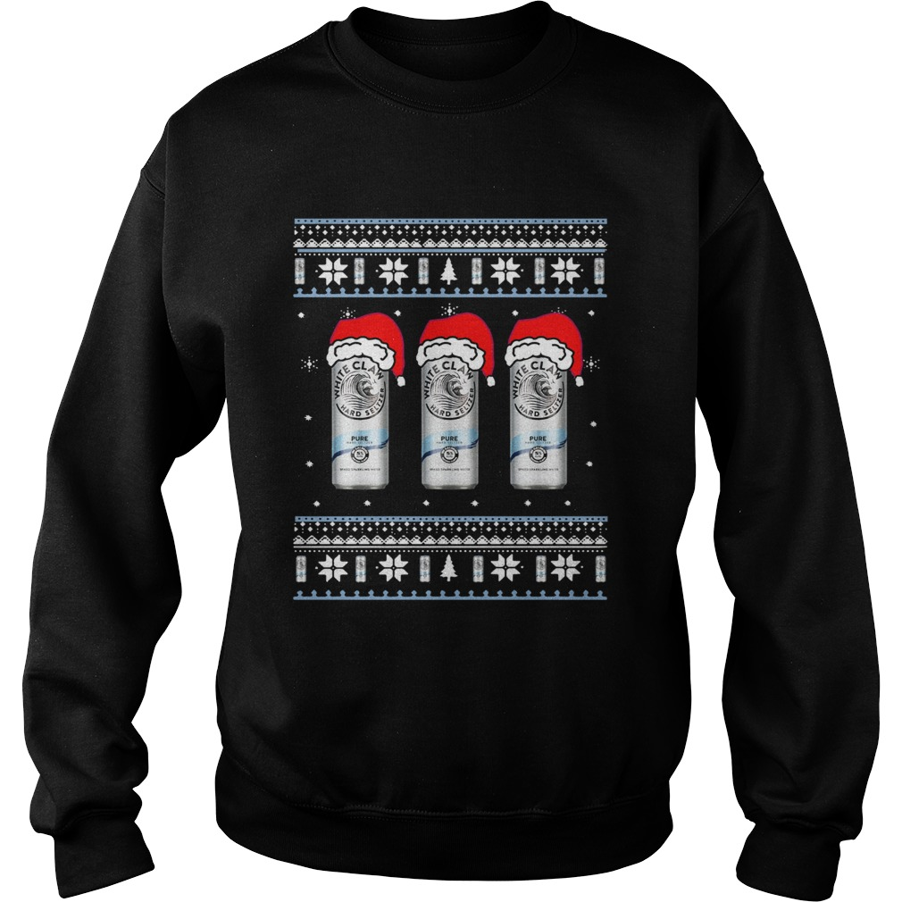 White Claw Pure Ugly Christmas Sweatshirt