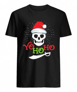 Yo Ho Ho Pirate Boat Cruise Christmas  Classic Men's T-shirt