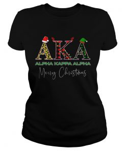 AKA Alpha Kappa Alpha Merry Christmas  Classic Ladies