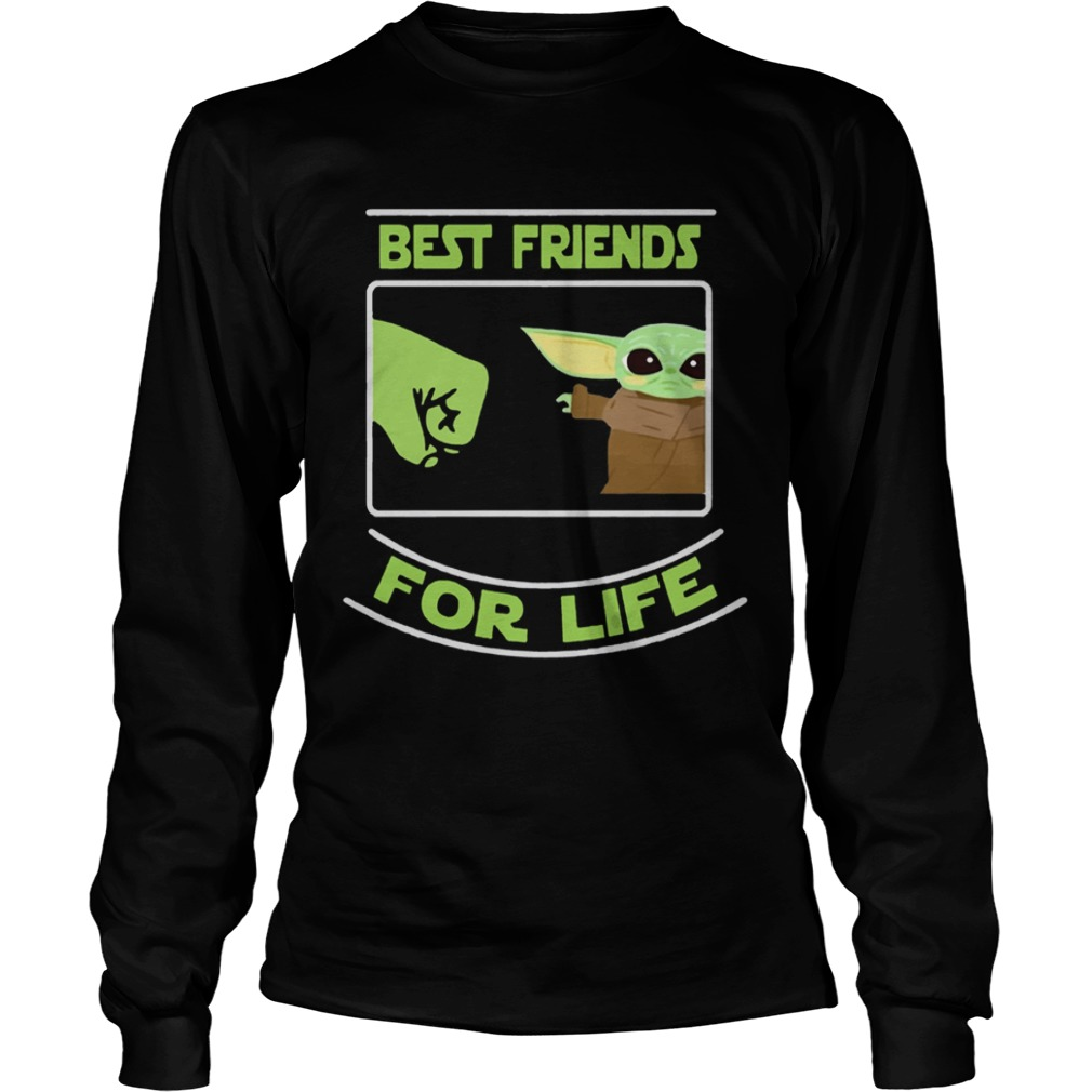 Best Friends For Life Baby Yoda  LongSleeve