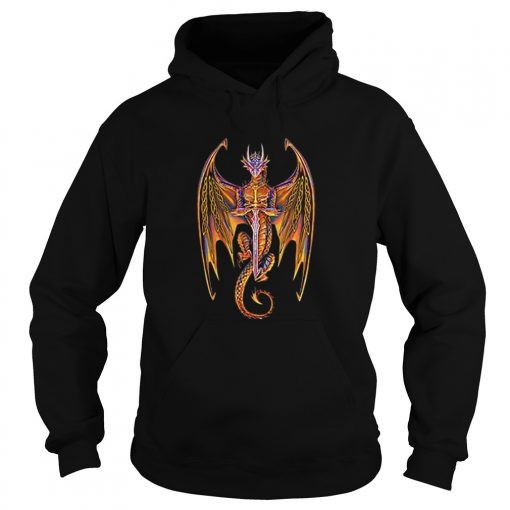 Dragon norse mythology sword  Hoodie