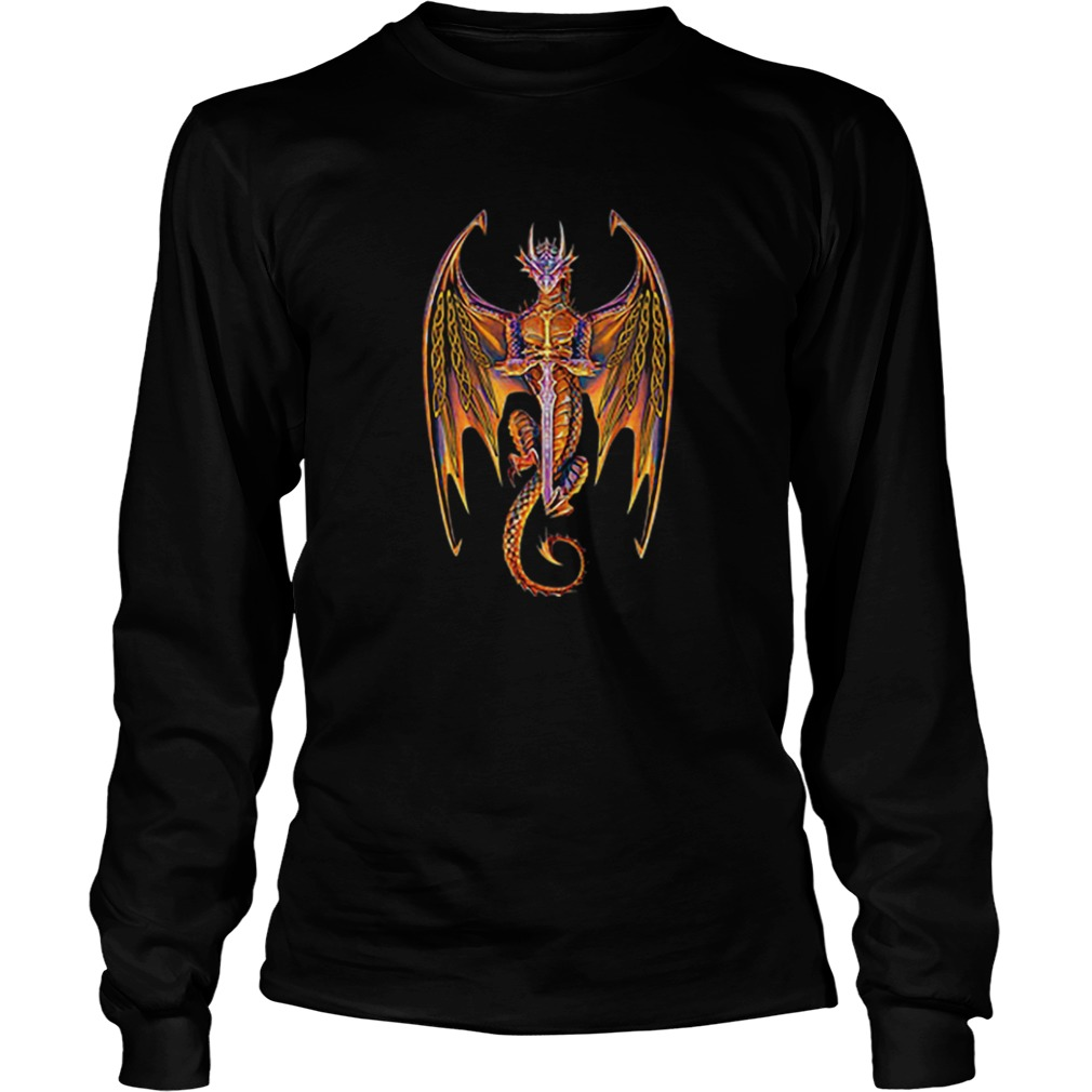 Dragon norse mythology sword  LongSleeve