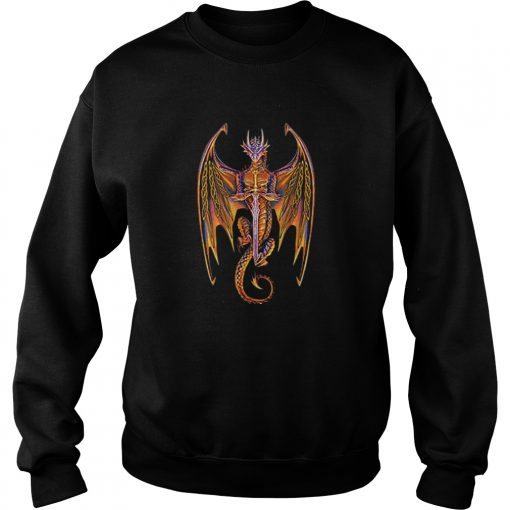 Dragon norse mythology sword  Sweatshirt