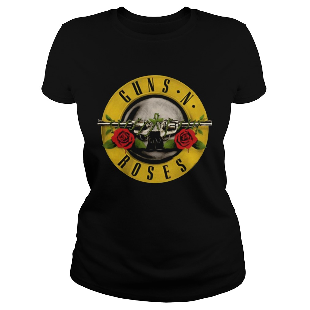 Guns N Roses Black Classic Ladies