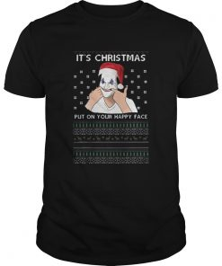 Joker its christmas put on your happy face ugly christmas  Unisex