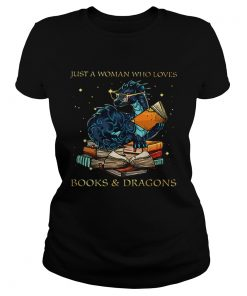 Just A Woman Who Loves BooksDragons  Classic Ladies
