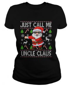 Just Call Me Uncle Santa Claus Flossing Xmas  Classic Ladies