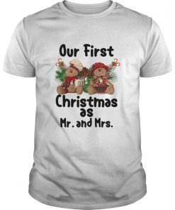 Our First Christmas As Mr and Mrs  Unisex