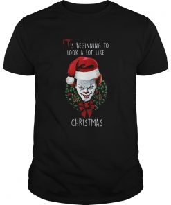 Pennywise Its beginning to look alot like christmas  Unisex