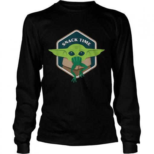 Star Wars The Mandalorian The Child Snack Time  LongSleeve