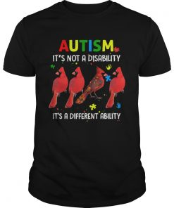 Parrot Autism Its Not A Disability Its A Different Ability  Unisex