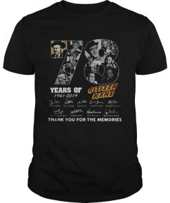 78 Years Citizen Kane Thank You For The Memories  Unisex