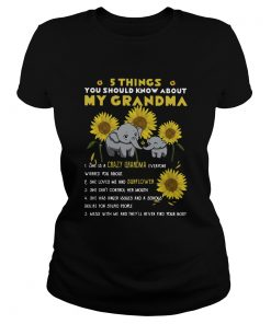 Elephant Sunflower 5 Things You Should Know About My Grandma  Classic Ladies