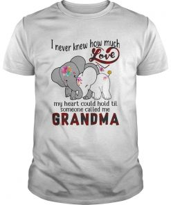 ElephantsInever knew how much love my heart could hold til someone called me Nana  Unisex