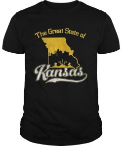 The Great State of Kansas Funny Trump Tweet Missouri Vintage  Unisex