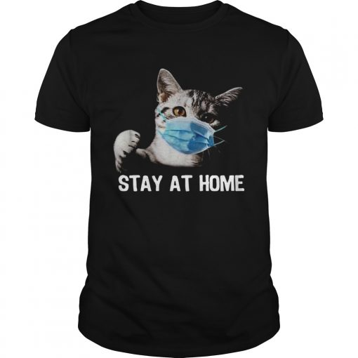 Cat Mask Stay At Home  Unisex