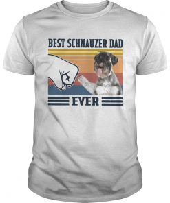 Best Schnauzer Dad Ever Vintage  Unisex