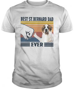 Best StBernard Dad Ever Vintage  Unisex