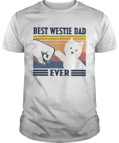 Best Westie Dad Ever Vintage  Unisex
