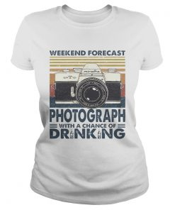 Forecast Photograph With A Chance Of Drinking Vintage  Classic Ladies