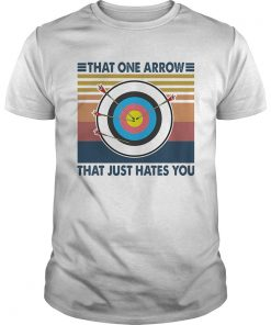 Target that one arrow that just hates you vintage  Unisex