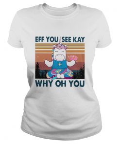 Urnicorn eff you see kay why oh you vintage  Classic Ladies
