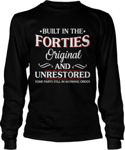 Built in the forties original and unrestored some parts still in working order  Long Sleeve