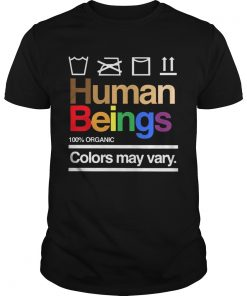 Human Beings 100 Organic Colors May Vary  Unisex