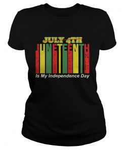 Juneteenth Is My Independence Day Not July 4th  Classic Ladies