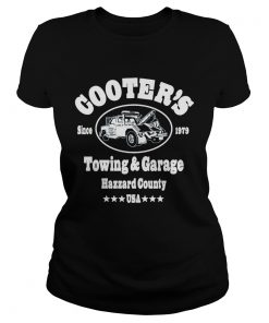 Cooters Since 1879 Towing And Garage Hazzard County USA  Classic Ladies