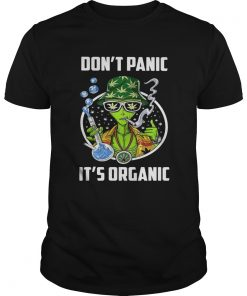 Dont Panic Its Organic Man Test Tube Smoking Hat Weed  Unisex