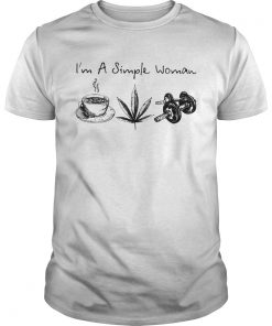 Im a simple woman coffee weed weightlifting  Unisex