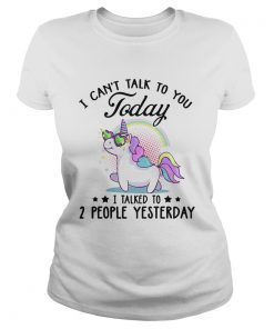 Unicorn i cant talk to you today i talked to 2 people yesterday stars  Classic Ladies