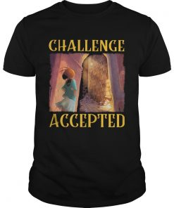 Challenge Accepted Girl In Library  Unisex