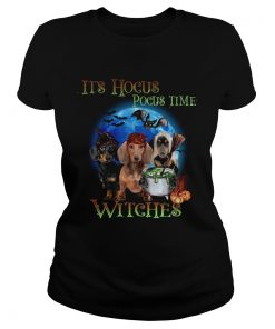Halloween Dachshund Its Hocus Pocus Time Witches t LlMlTED EDlTlON Classic Ladies