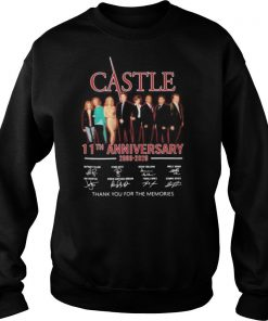 Castle 11th anniversary 2009 2020 thank for the memories signatures shirt