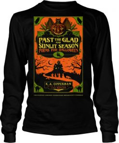 Past the Glad and Sunlit Season Book Cover shirt
