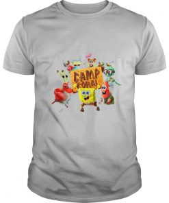 Spongebob Camp Coral Exciting Group shirt