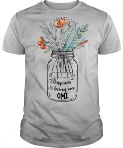Womens Happiness Is Being An Omi shirt