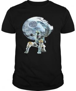 Star wars death star the mandalorian shirt