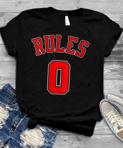 No Rules Zero Rules 0 Rules Famous Saying Famous Quote shirt