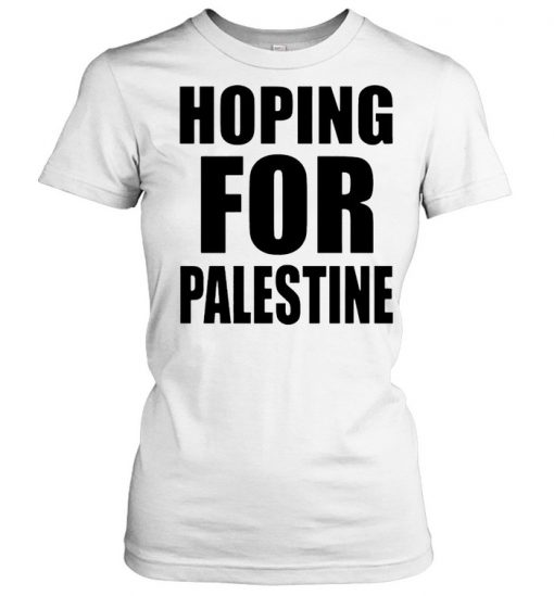 Hoping for Palestine  Classic Women's T-shirt